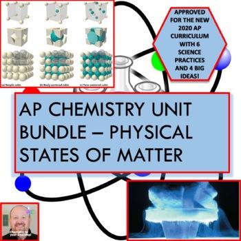 AP Chemistry Unit Bundle - Physical States of Matter