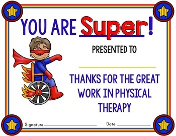 Physical Therapy Awards