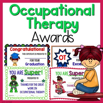 Occupational Therapy Awards