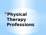 Physical Therapy & Physical Therapist Assistant Information PowerPoint