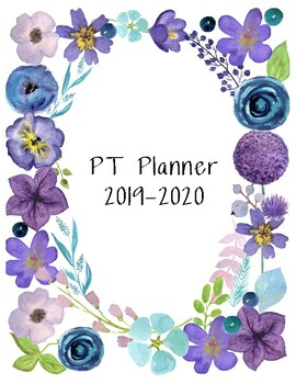 Physical Therapy Planner 2019-2020