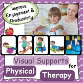Physical Therapy: Visual Supports for Treatment, Schedule, or Task Cards