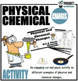 Physical and Chemical Changes Cut and Paste Activity