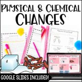 Physical and Chemical Changes with Digital Science Activities Distance Learning