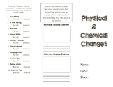 Physical and Chemical Changes Brochure