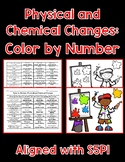 Physical and Chemical Changes Color By Number