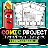 Physical and Chemical Changes Project - Comic Strip
