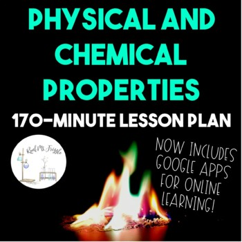 Physical and Chemical Changes--3-Day Lesson Plan