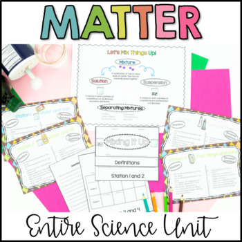 Physical Changes and Chemical Changes Unit