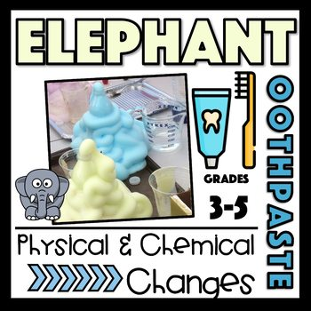 Physical and Chemical Changes: Elephant's Toothpaste Experiment - Grades 3-5