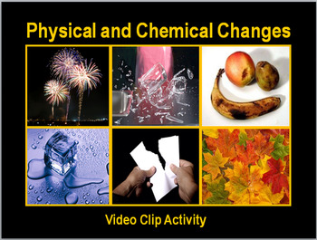 Physical and Chemical Changes:  Fun Video Clip Activity