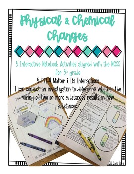 Physical and Chemical Changes INB Activities