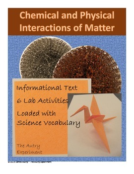 Chemical and Physical Changes / Interactions of Matter/ Fu
