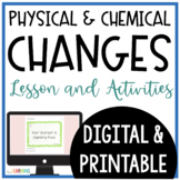 Physical and Chemical Changes Lesson and Resources