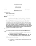 Physical and Chemical Changes Lesson Plans & Experiments