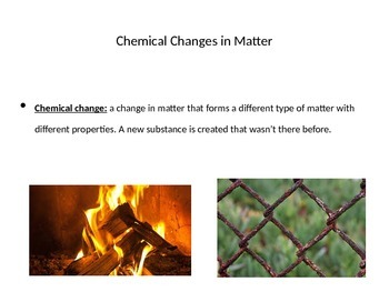 Physical and Chemical Changes PPT