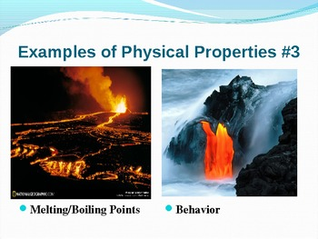 Physical and Chemical Changes - Power Point Presentation