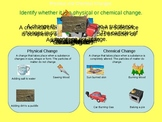 Physical and Chemical Changes Powerpoint (3rd - 5th grade)