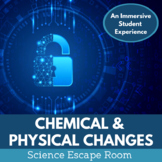 Physical and Chemical Changes Science Escape Room