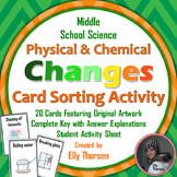 Physical and Chemical Changes Sorting Activity