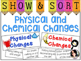 Physical and Chemical Changes Sorting Activity Perfect for Science Centers!