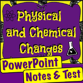 Physical and Chemical Changes Unit