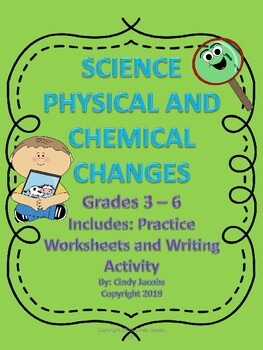 Physical and Chemical Changes Worksheets