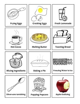 Physical and Chemical Changes in the Kitchen