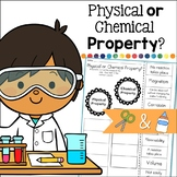 Physical and Chemical Properties Cut and Paste Sorting Activity