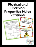 Physical and Chemical Properties Notes Stations