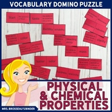 Physical and Chemical Properties Terms Domino Puzzle