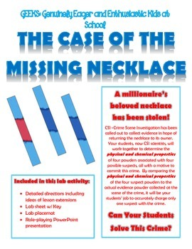 Physical and Chemical Properties: The Case of the Missing Necklace