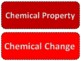 Physical and Chemical Properties and Changes Card Sort