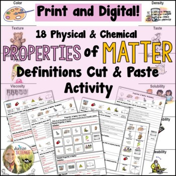 Physical & Chemical Properties of Matter Definitions and C