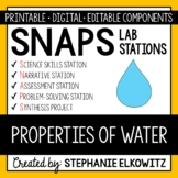 Physical and Chemical Properties of Water Lab Stations Activity