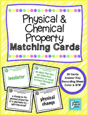 Physical and Chemical Property Matching Activity Game
