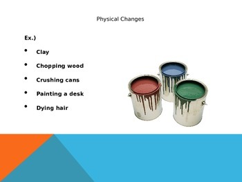 Physical and Chemical Reactions PowerPoint