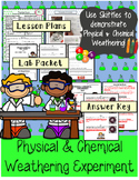 Physical and Chemical Weathering Demonstration and  Science Experiment