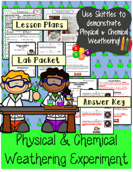 Physical and Chemical Weathering Demonstration and  Scienc