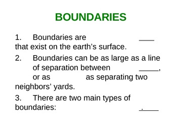 Physical and Cultural Boundaries of Countries
