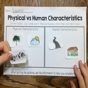 Physical and Human Characterisitics