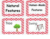Physical and Human Features Sort