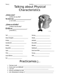 Physical and Personality Characteristics
