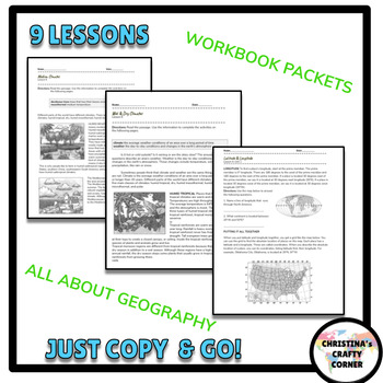 Physical and Political Earth-  Unit Geography