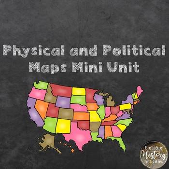 Physical and Political Maps Mini Bundle