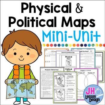 Physical and Political Maps Mini-Unit
