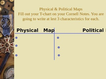 Physical and Political Maps Powerpoint