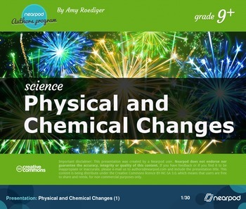Physical and chemical changes (1)