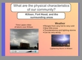 Physical Characteristics of our Community