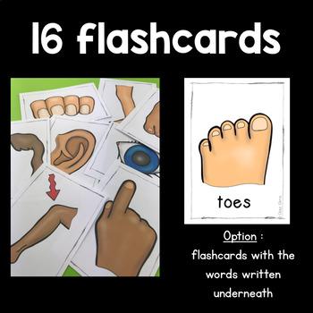 Physical description: flashcards - crosswords - reading comprehension